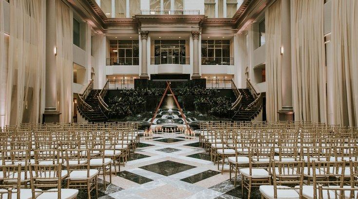 Curtis Atrium wedding