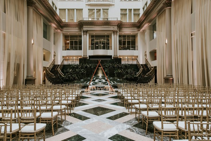 Curtis Atrium wedding