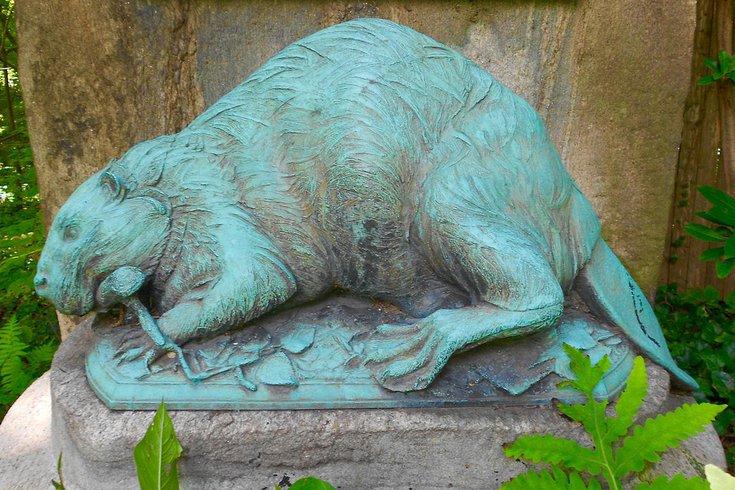 Delco Beaver Statue