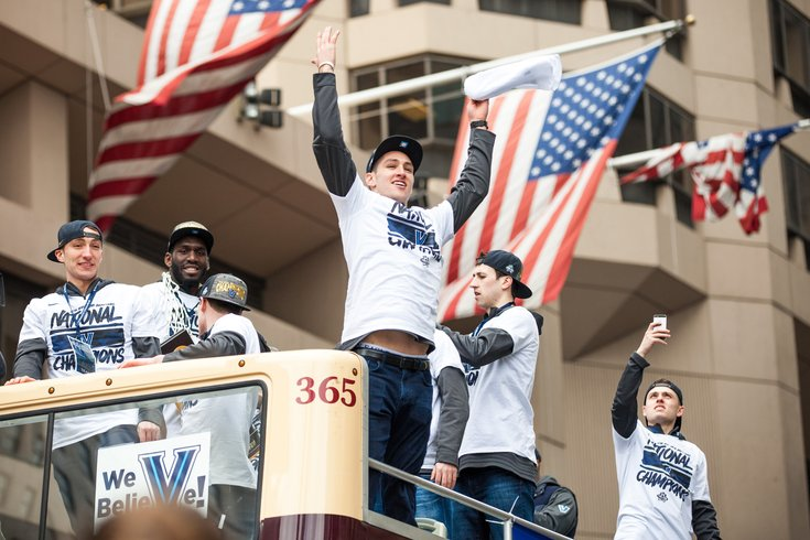 Carroll - Villanova Basketball Parade