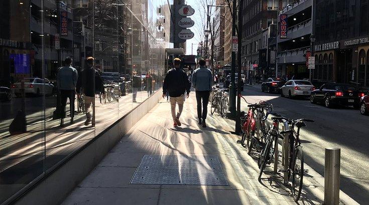 15th Street Sidewalk Center City Philadelphia 04082019