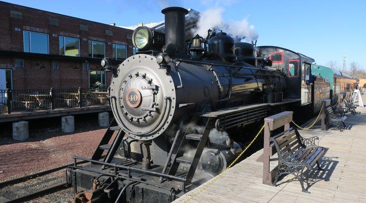 North Wales Steam Train Locomotive