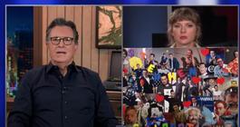 Stephen Colbert Taylor Swift