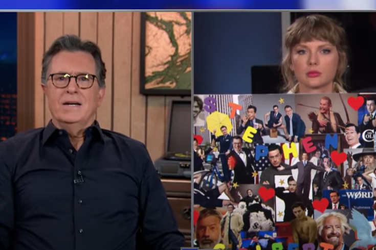 Stephen Colbert Taylor Swift