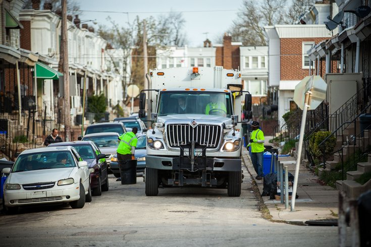Carroll - Northeast Philadelphia Sanitation Workers Garbage Truck