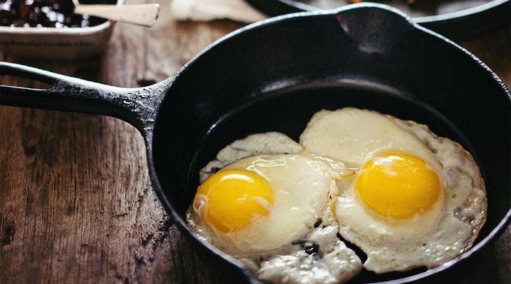 Fried Eggs Skillet 04172019