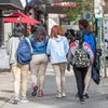 Carroll - Students Walking on Chestnut Street