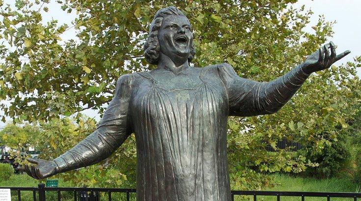 Kate Smith Statue South Philadelphia