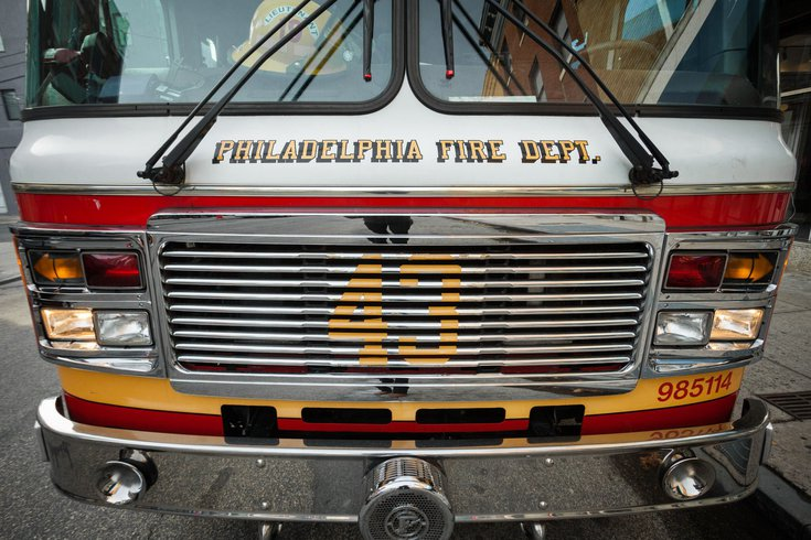 North Philly Brush Fire