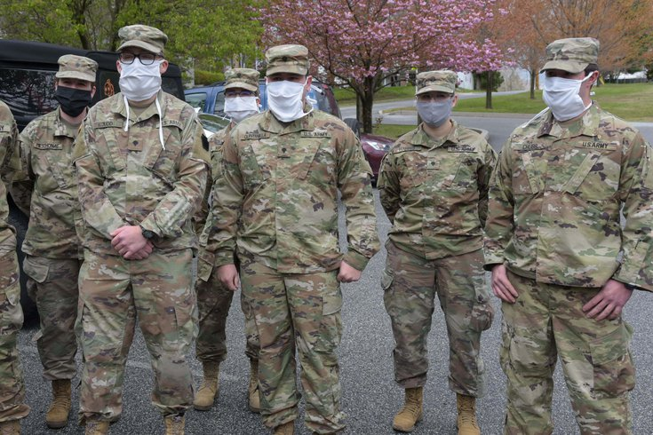 PA National Guard COVID-19