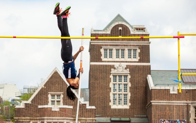 Carroll - Penn Relays Pole Vault