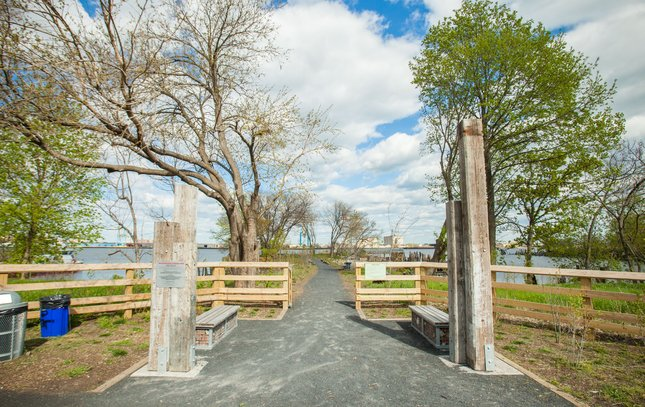 Carroll - Washington Avenue Pier Delaware River Waterfront