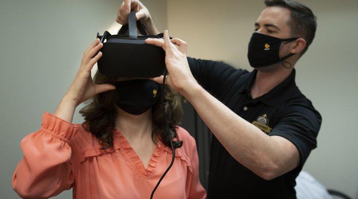 Virtual Reality Treatment For PTSD