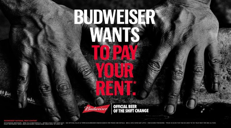 Budweiser Hands Contest