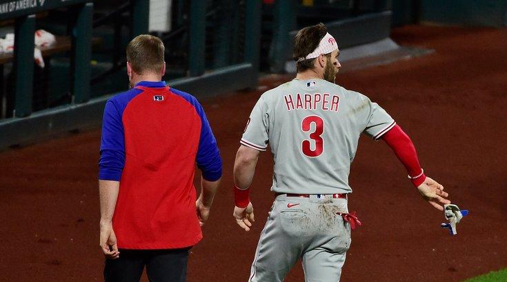 Bryce Harper hit-by-pitch