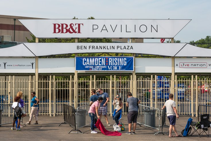Carroll - Camden Rising at BB&T Pavilion