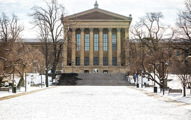 Carroll - Snow at Philadelphia Museum of Art