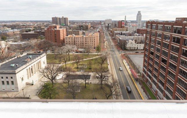 Carroll - Aerial of Camden NJ