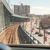 Stock_Carroll - Riding PATCO train over the Benjamin Franklin Bridge