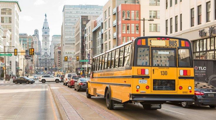 Stock_Carroll - The School District of Philadelphia, School Bus