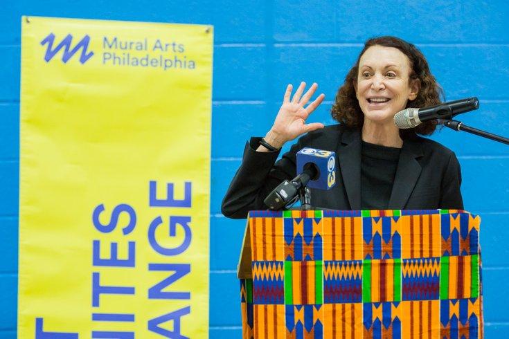Carroll - Mural Arts Philadelphia Ed Bradley Event