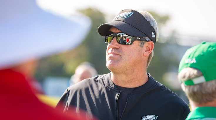 Carroll - Doug Peterson Eagles Training Camp
