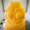 Carroll - Gritty Cheese Sculpture