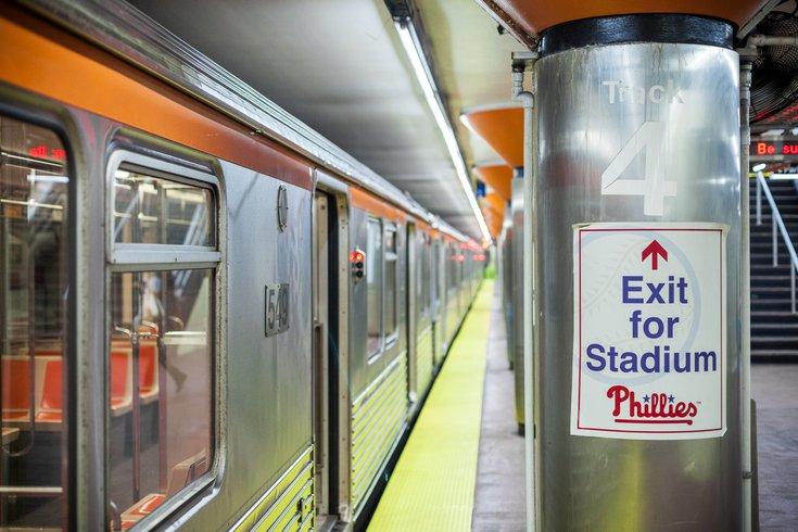 Carroll - SEPTA Subway AT&T Station Pattison Avenue