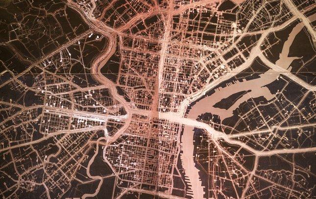 Carroll - Mind Illuminated Art Philadelphia Map