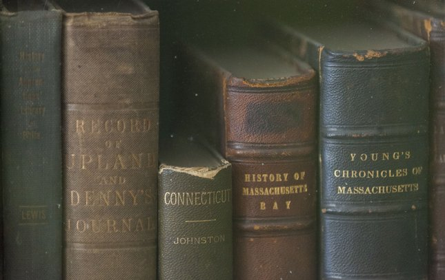 Carroll - Old Books at Girard College