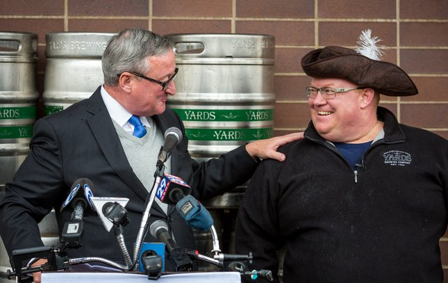 Carroll - New Yards Brewery Event Jim Kenney