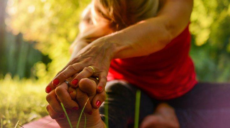 Arthritis pain stretching