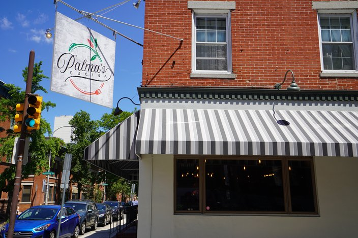 The exterior of Palma's Cucina in Fitler Square