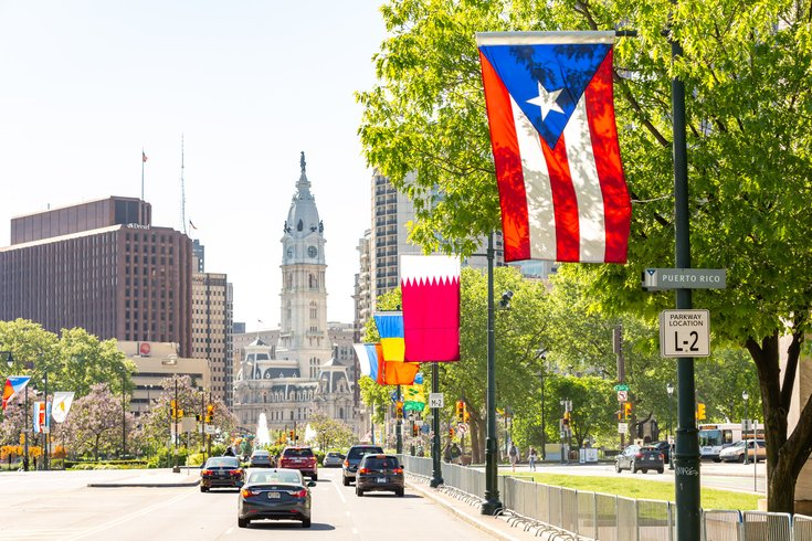 Carroll - Puerto Rico Flag Benjamin Franklin Parkway
