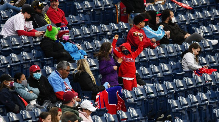 Phillies capacity restrictions