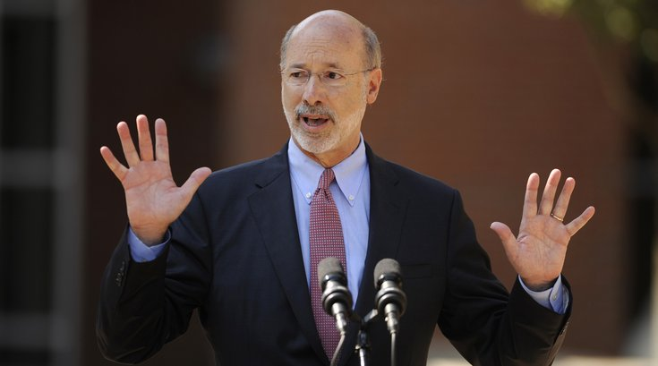 Tom Wolf approval rating
