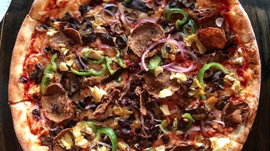 Blackbird Pizzeria Vegan Philly