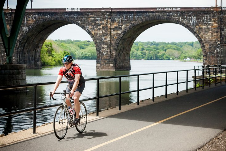 Carroll - Cycling on Schuylkill River Trail