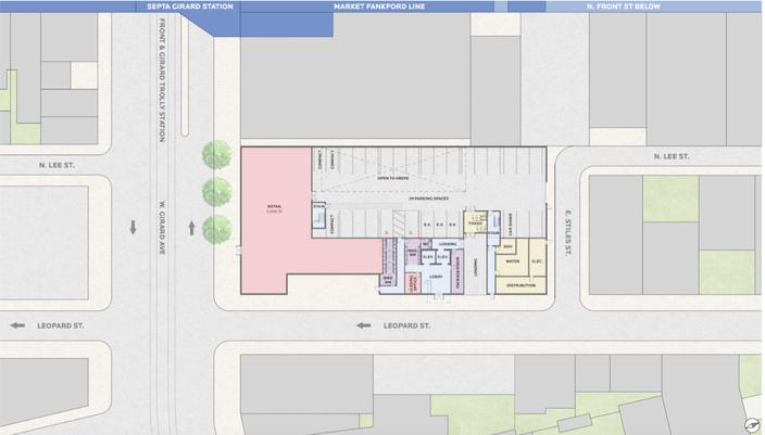 Girard Apartments Blueprint