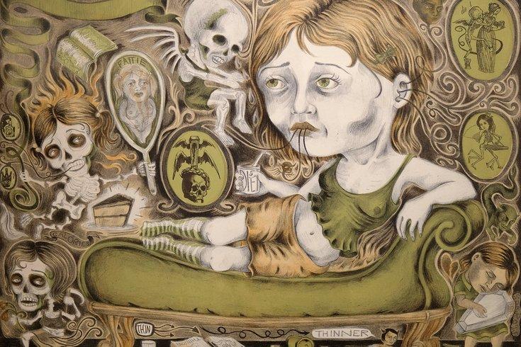 Anorexia Girl artwork Jenny Schmid 05232019