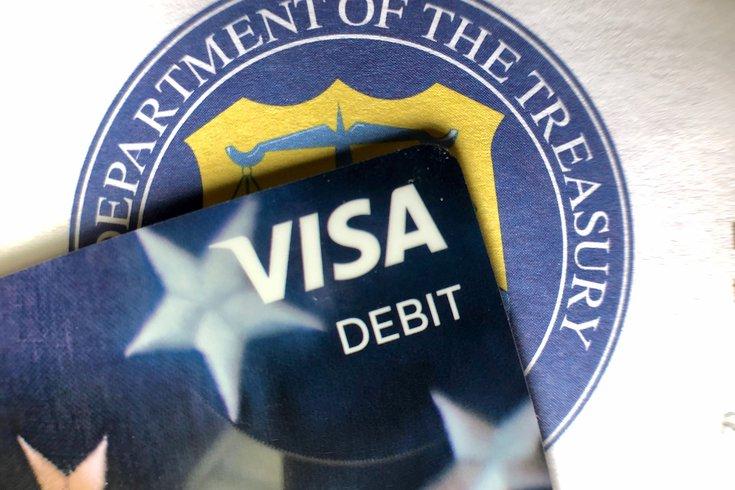 debit card stimulus check