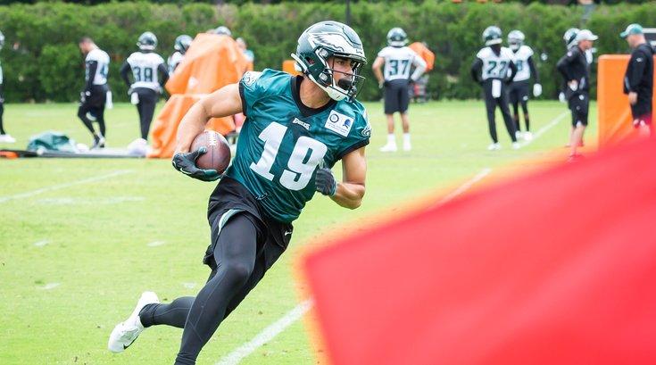 Carroll - Eagles Stock J.J. Arcega-Whiteside