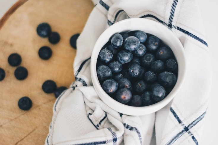 blueberries heart health