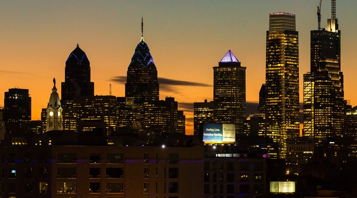 Stock_Carroll - Philadelphia Skyline at dusk