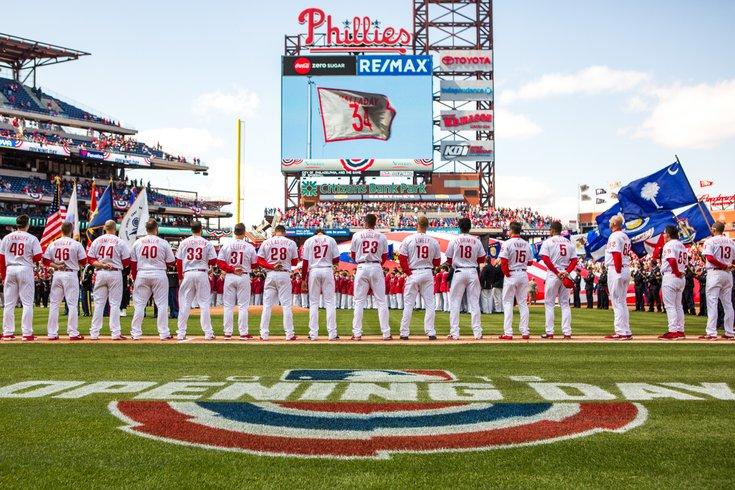 Carroll - Philadelphia Phillies 2018 Home Opener