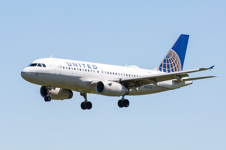 Carroll - United Airlines airplane