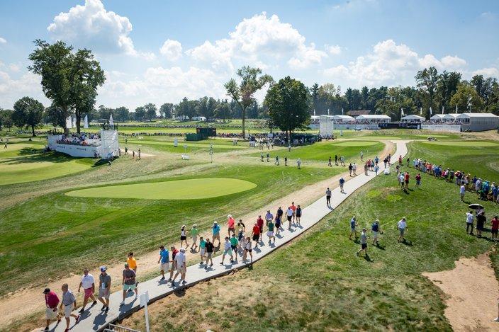 Carroll - BMW Championship - Aronimink Golf Club
