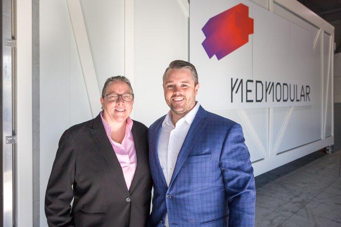 Carroll - MedModular prefab hospital room