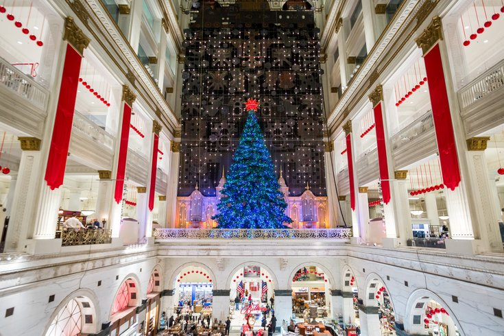 holiday christmas music carroll macys holiday light show - What Station Is Christmas Music On
