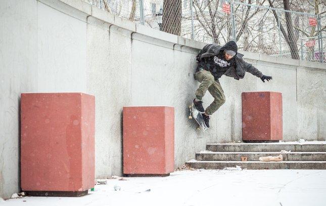 Carroll - Skating at LOVE Park Skateboarding